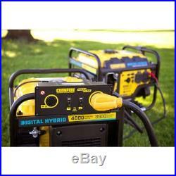 Champion Power Equipment Inverter Generator DH Series 4000-Watt Gas Recoil Start