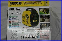 Champion Power Equipment Inverter Generator Gasoline Recoil Start 2500 Watt New