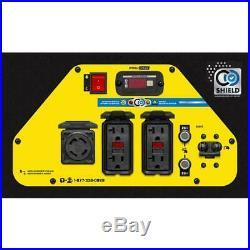Champion Power Equipment Portable Generator 6250-W Dual Fuel Powered Shield Tech