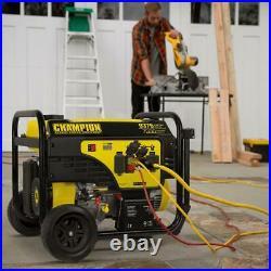 Champion Power Equipment Portable Generator 9375/7500-Watt 25-Ft Extension Cord