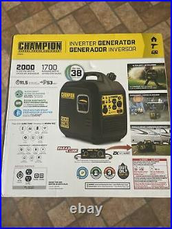 Champion power equipment 2000 Portable Inverter Generator Ultra Light