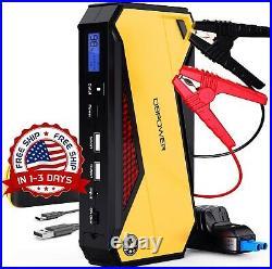 Coche Bateria Kit De Cargador Equip Carro Corriente Booster Auto Jumb Start NEW