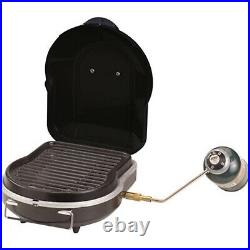 Coleman Portable Gas Grill Cooking Fold N Go Outdoor Camping Barbecue Equipment