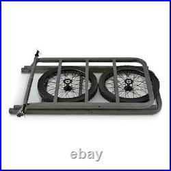 DEER CART PORTABLE Game Hauler Utility Gear Dolly Hunting Equipment Wheel Straps