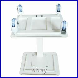 Dental Equipment Mobile Steel Cart Portable Double Layer Lab Durable Premium US