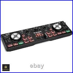 Dj Mixer Controller Numark Turntables Set Starter Kit Equipment Package Setup