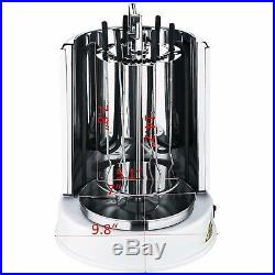 Doner Kebab Machine Electric Grill Bbq Vertical Cooking Equipment 1100W 110V New