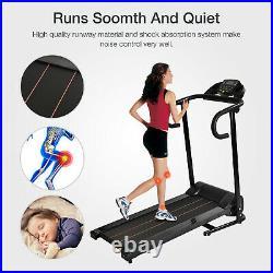 Electric Motorized Treadmill Folding 1100W Running Machine Portable Equipment
