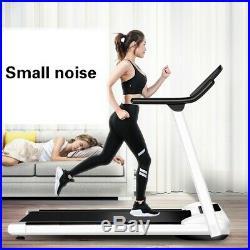 Electric Motorized Treadmill Folding Running Machine Portable Cardio Equipment