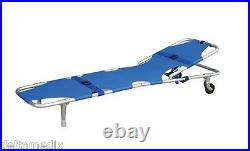 Emergency Folding Portable Wheel Stretcher Mobile Equipment FDA / CE 191-MayDay