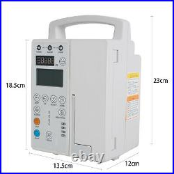 FDA Infusion Pump rechargable with Audible-Alarm, Pump-IV&Fluid equipment IP-50