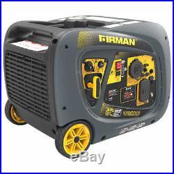 Firman Power Equipment 3200W Peak Running / 2900W Running Gas Inverter Generator