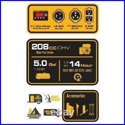 Firman Power Equipment P03602 Gas Powered 3650/4550 Watt Portable Generator New