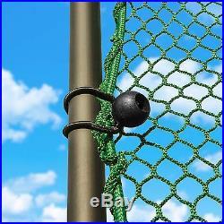 Freestanding Golf Cage Home Driving Range Net & Poles Net World Sports