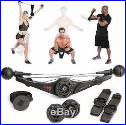 Full body Portable Gym Workout Exercise Strength Training Equipment Muscle Home