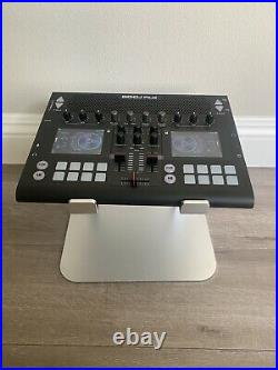 GODJ Plus All-in-one portable DJ equipment with full digital speaker Black