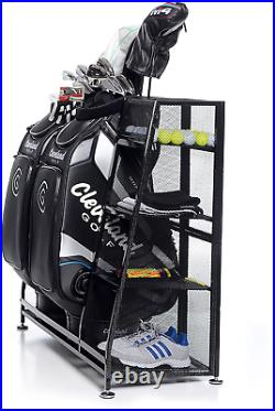 Golf Organizer Bags Golfing Equipment Accessories Storage Rack Holder Portable