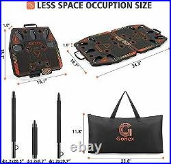 Gonex Portable Home Gym Workout Equipment with 10 Exercise Accessories Ab