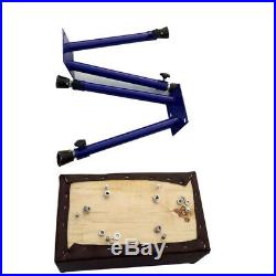 High Quality Adjustable Height Portable Gymnastics Goat Vault Pommel Horse
