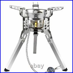 Hiking Gas Burner Camping Stove Split Type Fold-able Cooking Equipment Portable