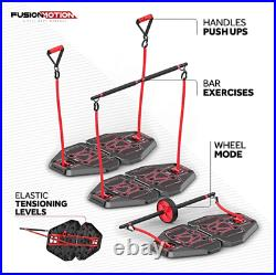 Home Gym exercise system 8 Accessories PRO workout equipment crossfit yoga loop