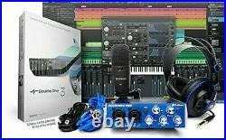 Home Recording Studio Audio Equipment Mic Mixer Headphones StudioOne Software