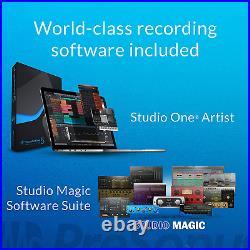Home Studio Recording Package Kit Full Music Equipment Bundle Software Mixer Mic