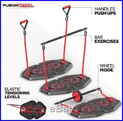 Home Workout Exercise Equipment Portable Gym Resistance Bands Calves Hamstrings