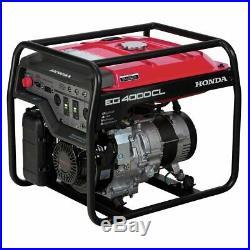 Honda Power Equipment EG4000CLAT 4,000W Portable Generator with DAVR Technology