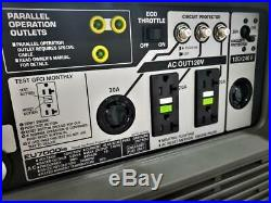 Honda Power Equipment Portable EU7000is Inverter Generator With Quick Start