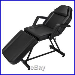 Hydraulic Adjustable Facial Table Bed Chair Tattoo Beauty Barber Salon Equipment