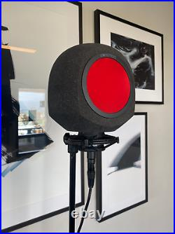 Iconic Mars Comet Portable Vocal Studio Booth I Microphone Accessory Pop Guard