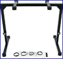 K&M 18810 Omega Table-Style Keyboard Stand Black