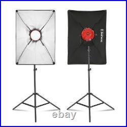 Kshioe 500W Portrait Light Lighting Tent Kit Photography Video Studio Equipment