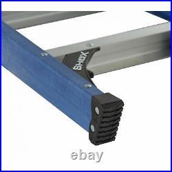 LADDER FIBERGLASS STEP ELECTRICIAN Heavy Duty Equipment 6 Ft Folding Extension