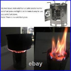 Lantern Wood Stoves Camping 3 in 1 Burner Lanterns Heater Portable Equipment New