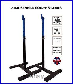 Lifting Stands Squat Racks Weight Adjustable Barbell Home Gym Equipment Portable