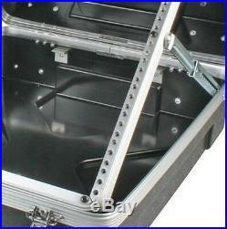 MCM Custom Audio 555-15641 Abs Mixer Flight Portable Equipment Dj19pa Case 12ru