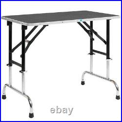 Master Equipment Adj Height Groom Table 36x24In TP698-36 Pet Grooming tables NEW