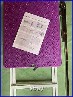 Master Equipment Steel Versa Competition Pet Grooming Table Purple