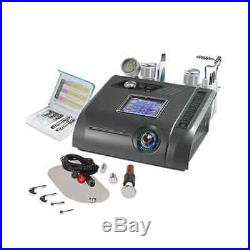 Micro-Crystal Dermabrasion 6 In 1 Beauty Equipment MultiFuction Machine Black