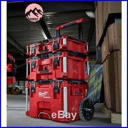 Milwaukee PACKOUT Portable Rolling Tool Box 22 Equipment Storage Organizer