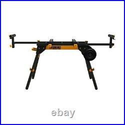 Miter Saw Stand Jacks Black Power Tool Mount Twist Locks Workshop Equipment