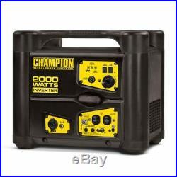 NEW Champion Power Equipment 2000 Watt Gasoline Inverter Generator SUPER QUIET