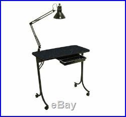 Nail Table Portable Beauty Salon Technicians Spa Equipment Care Manicure Station