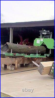 New-2020 Lumber Maker- Fully Complete, 7HP (301cc) Portable Sawmill, Saw Mill