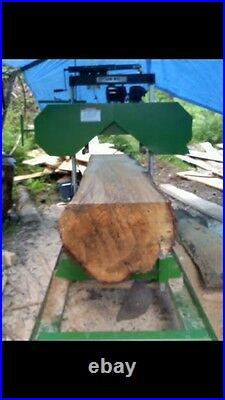 New- In Stock Ready to Ship- Fully Complete, 7HP Portable Sawmill, Saw Mill