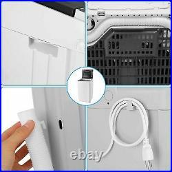 New Nictemaw 110V Laundry Washing Machine Washer Equipment with Wash Dehydration