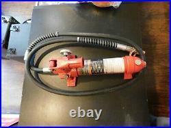 PITTSBURGH AUTOMOTIVE 4 Ton Heavy Duty Portable Hydraulic Equipment Kit