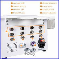 Portable 40K Ultrasonic Cavitation Vacuum Laser 8 Pads lipo Slimming Equipment
